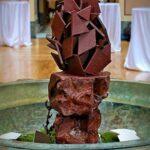 skulptura z čokolády