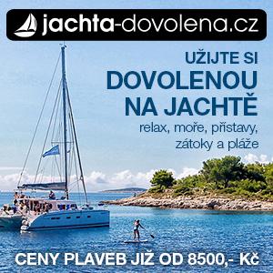 dovolena u moře, jachta dovolena