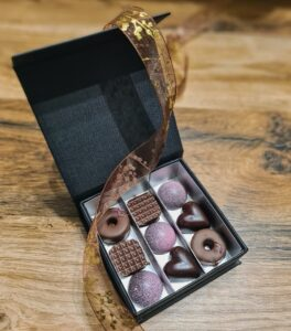 Praline čokoládové bonbóny